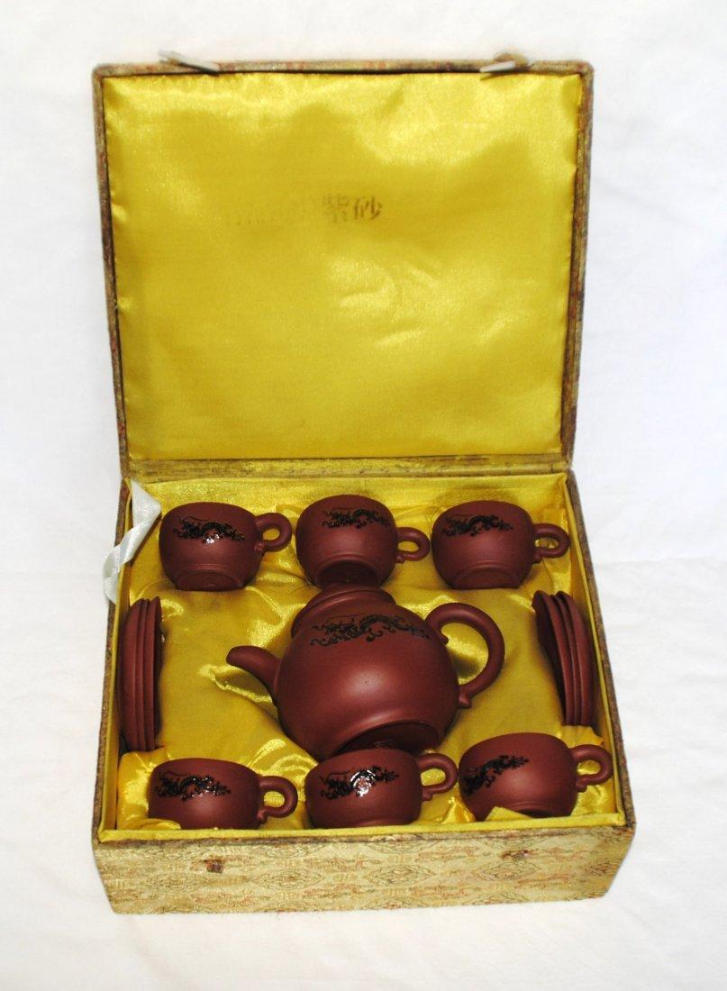 Old  YiXing ZiSha TeaPot   1Set
