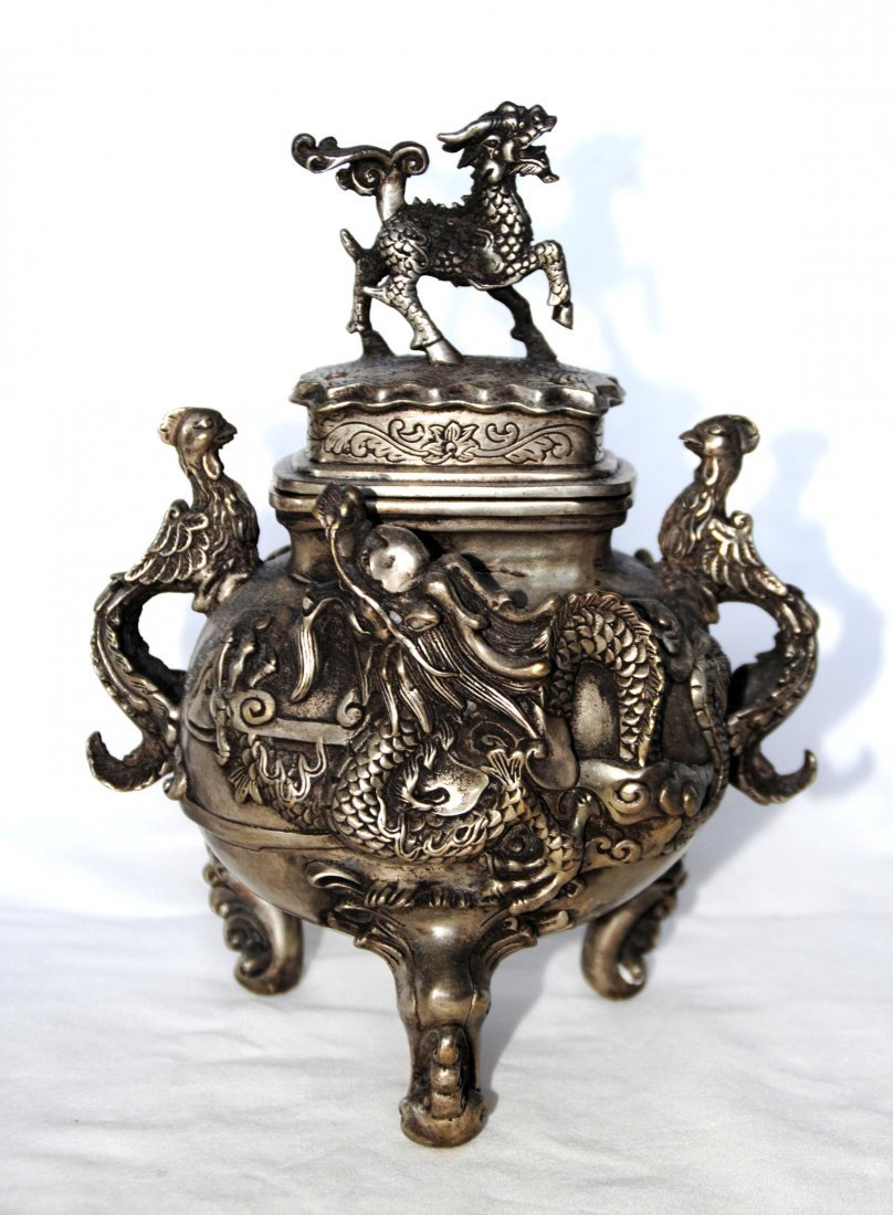 Chinese Antigue Bronze Censer