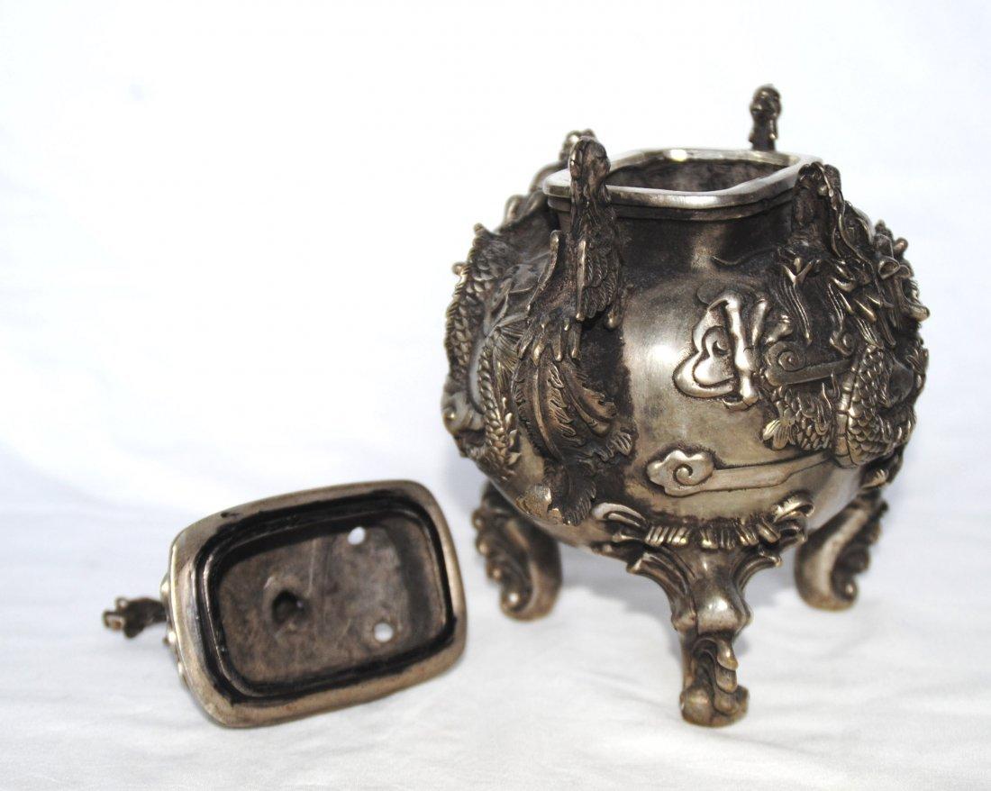 Chinese Antigue Bronze Censer - 2