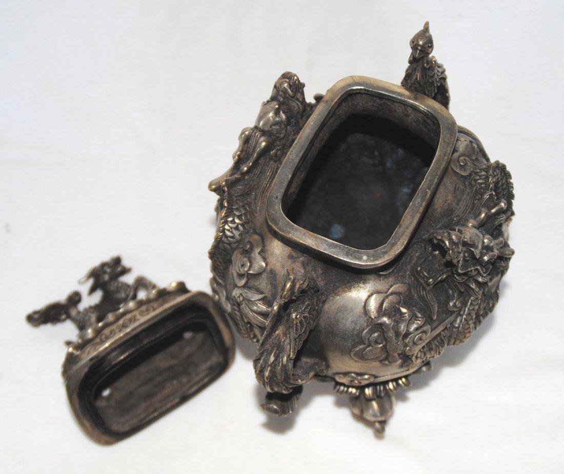 Chinese Antigue Bronze Censer - 3
