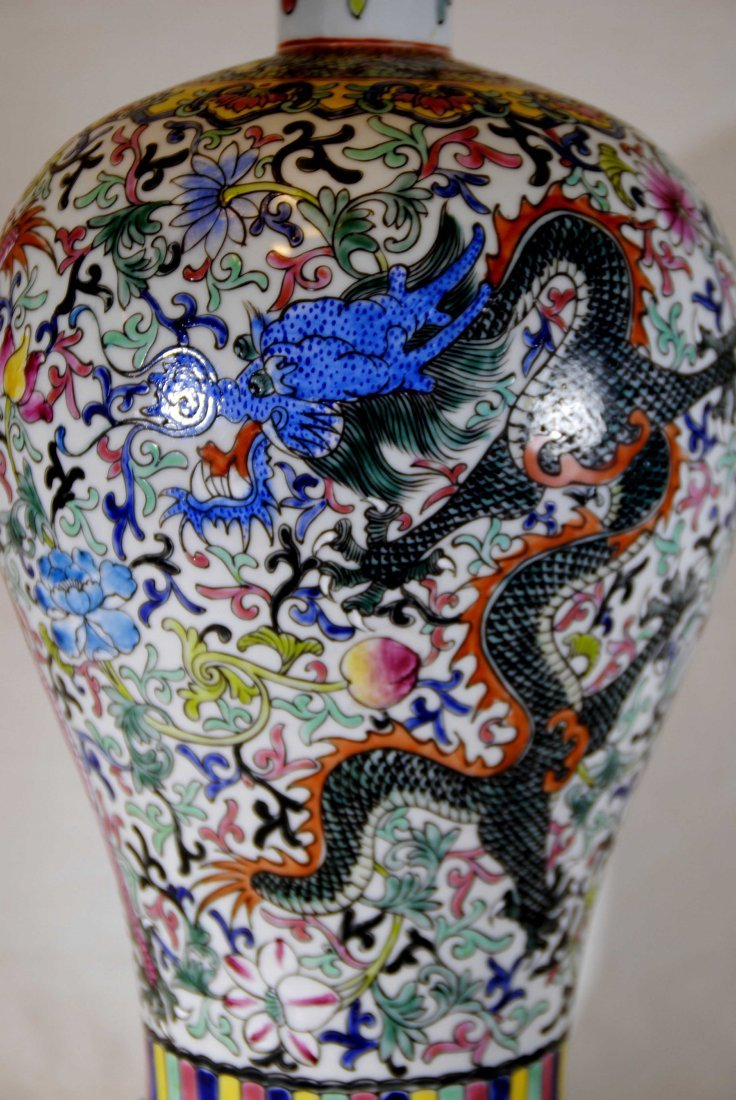 Chinese Porcelain  Lamp - 4