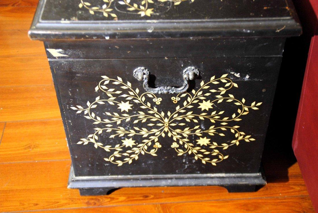 Bone Mosaic  Patterned  Wood Box - 3