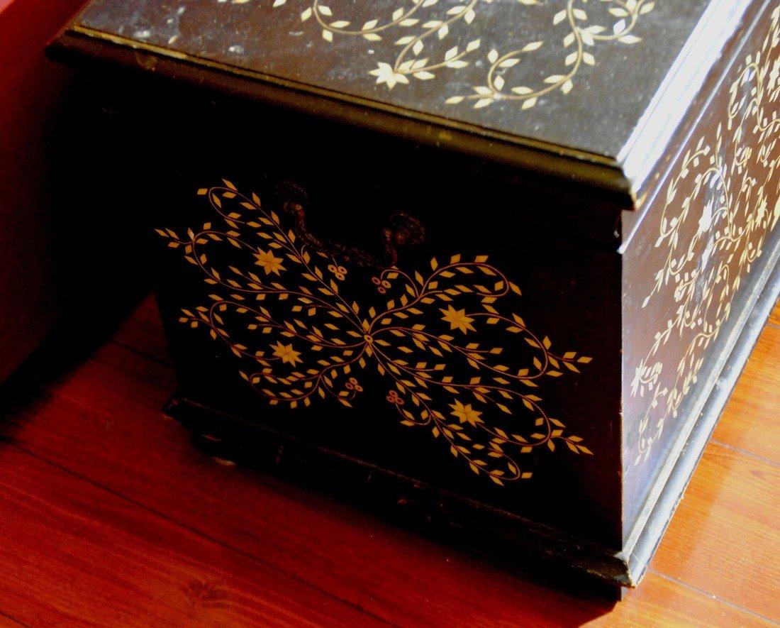 Bone Mosaic  Patterned  Wood Box - 4