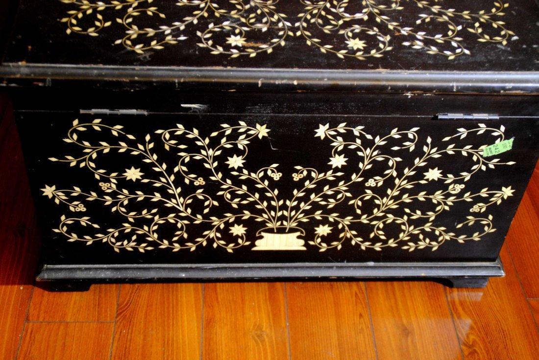 Bone Mosaic  Patterned  Wood Box - 5