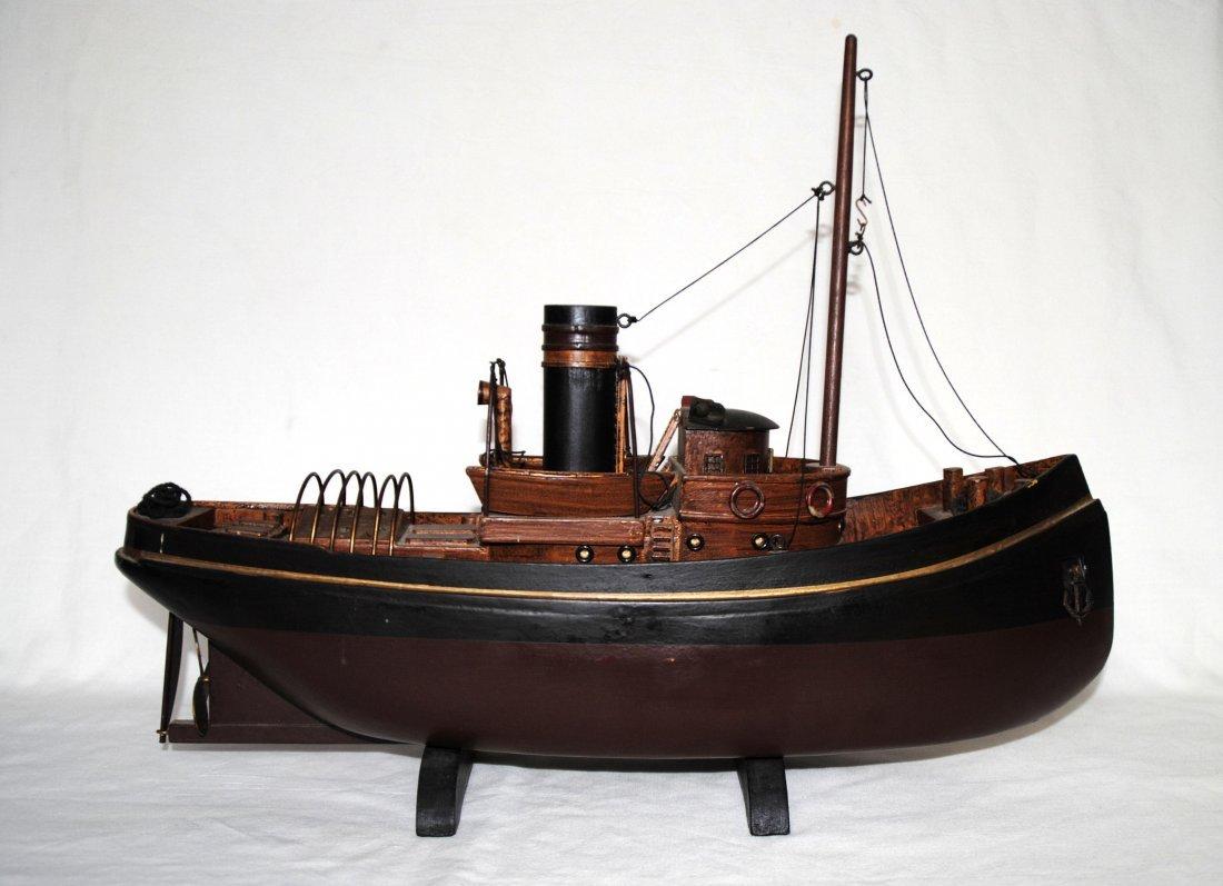 Wood Tugboat  Model