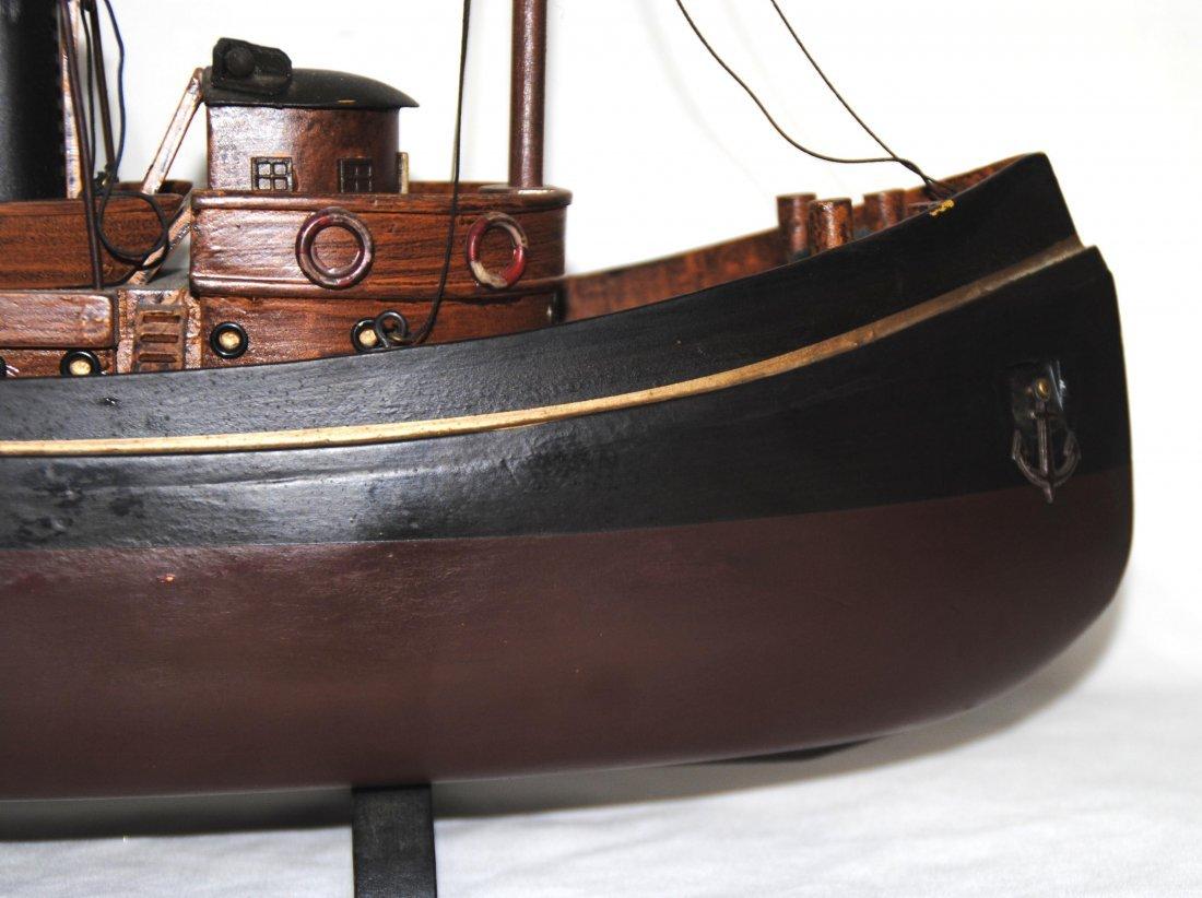 Wood Tugboat  Model - 2