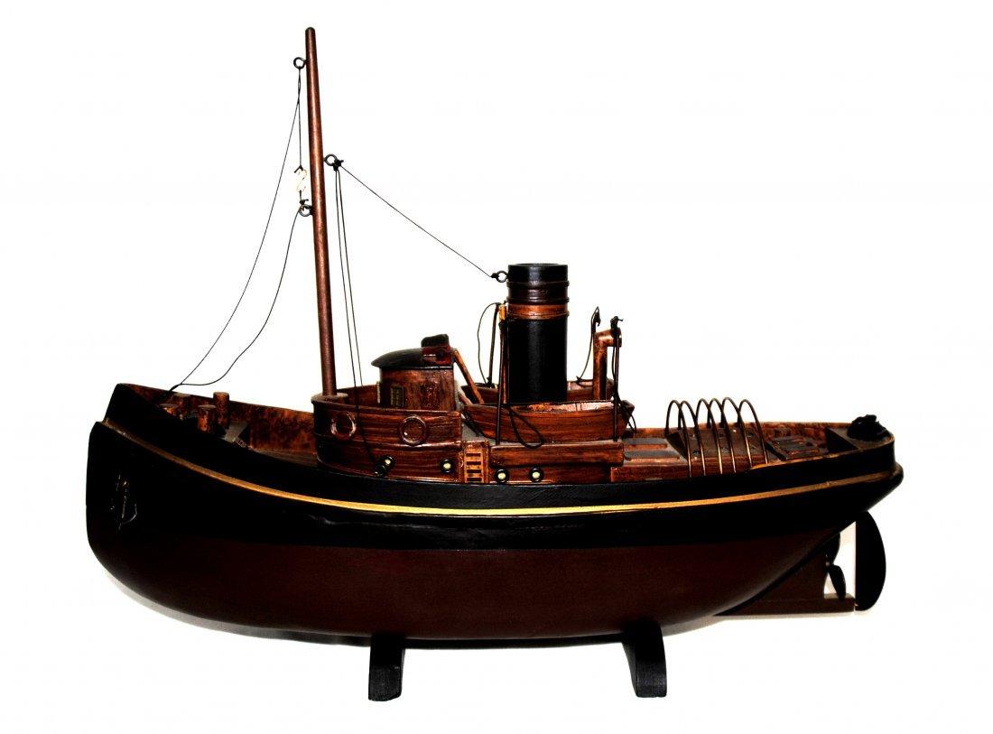 Wood Tugboat  Model - 5