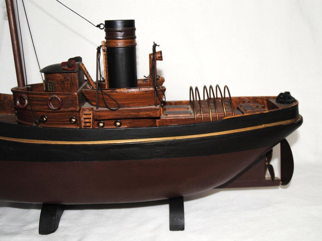 Wood Tugboat  Model - 6