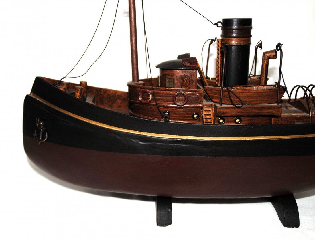 Wood Tugboat  Model - 7
