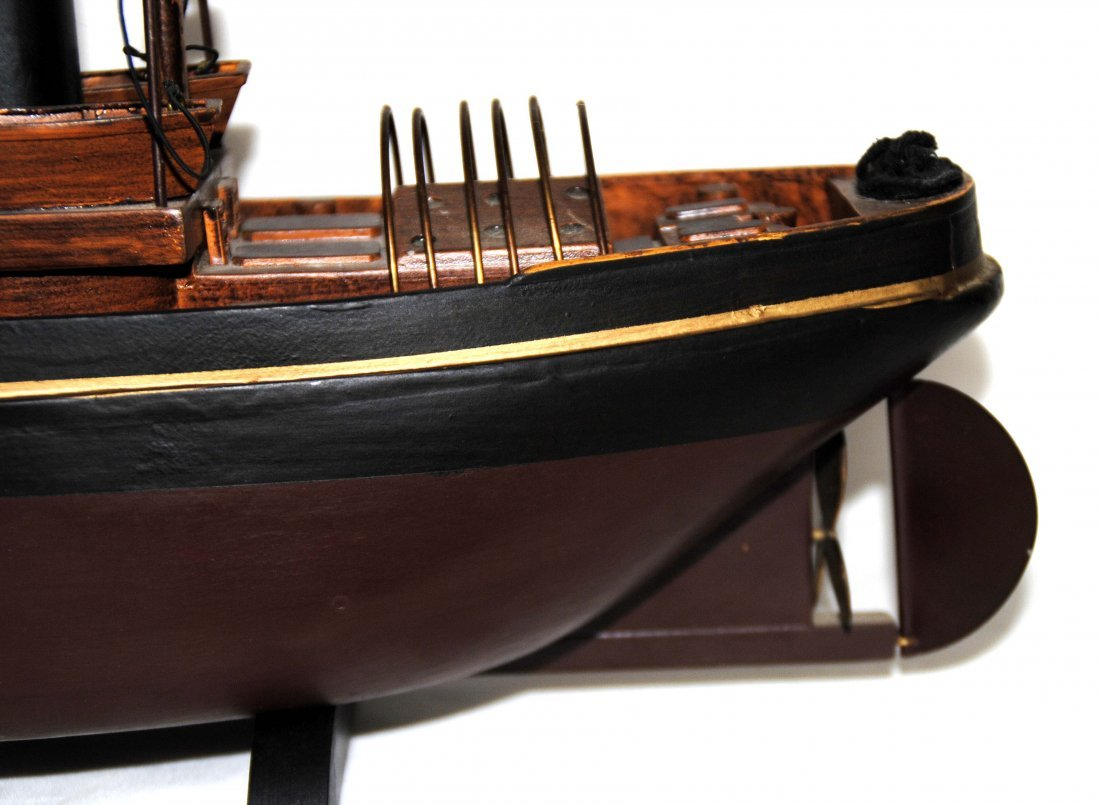 Wood Tugboat  Model - 8