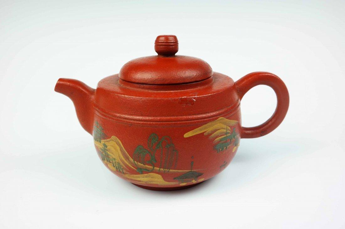 a zisha teapot
