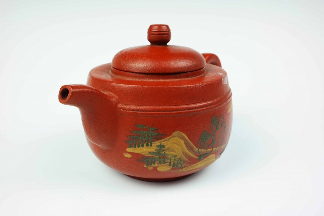 a zisha teapot - 2