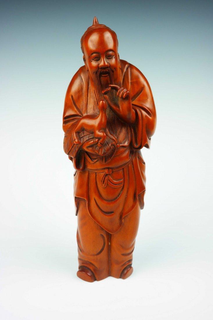 a huangyangmu confucius statue