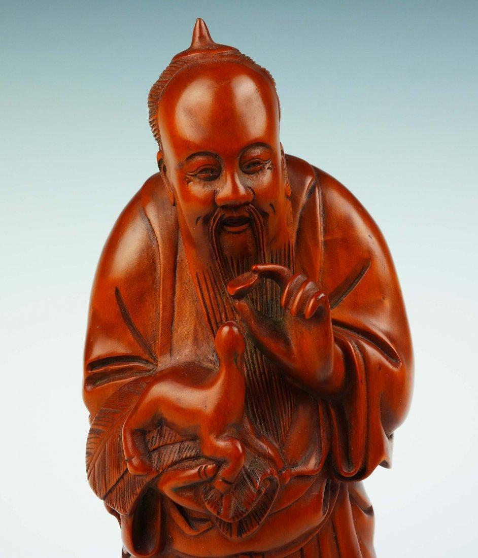 a huangyangmu confucius statue - 5