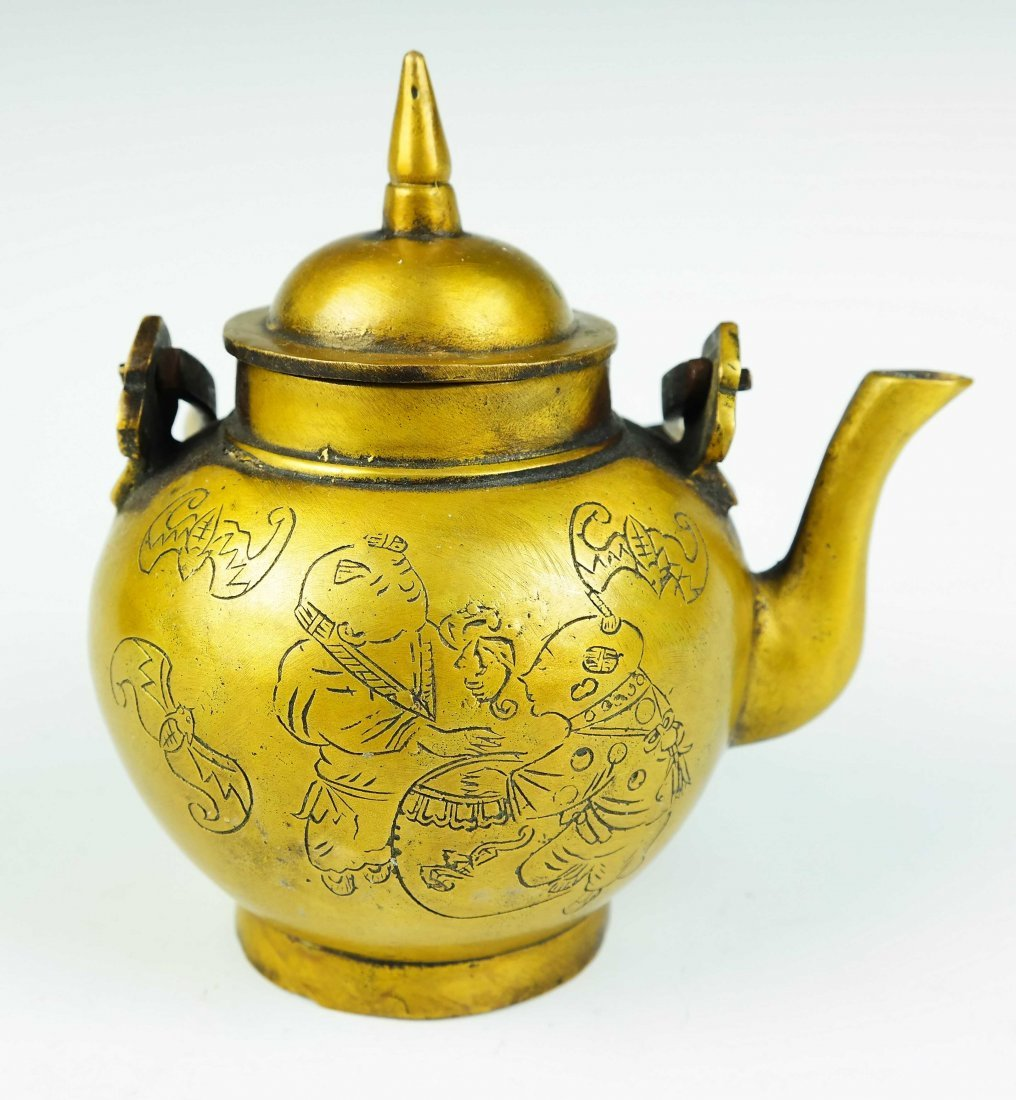 bronze teapot - 2