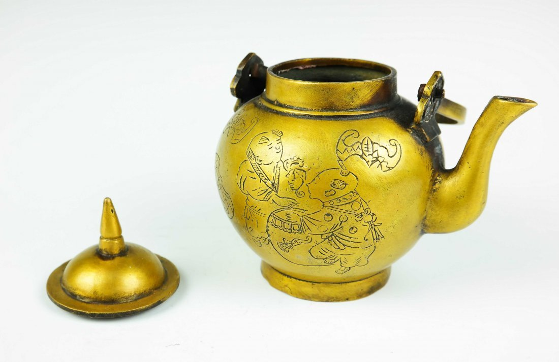 bronze teapot - 3