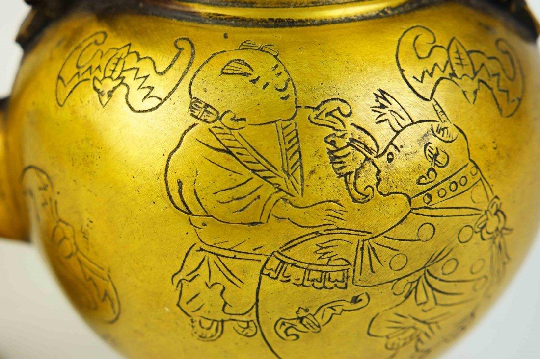 bronze teapot - 4