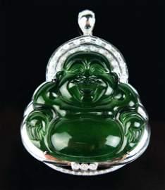 a jadeite buddha