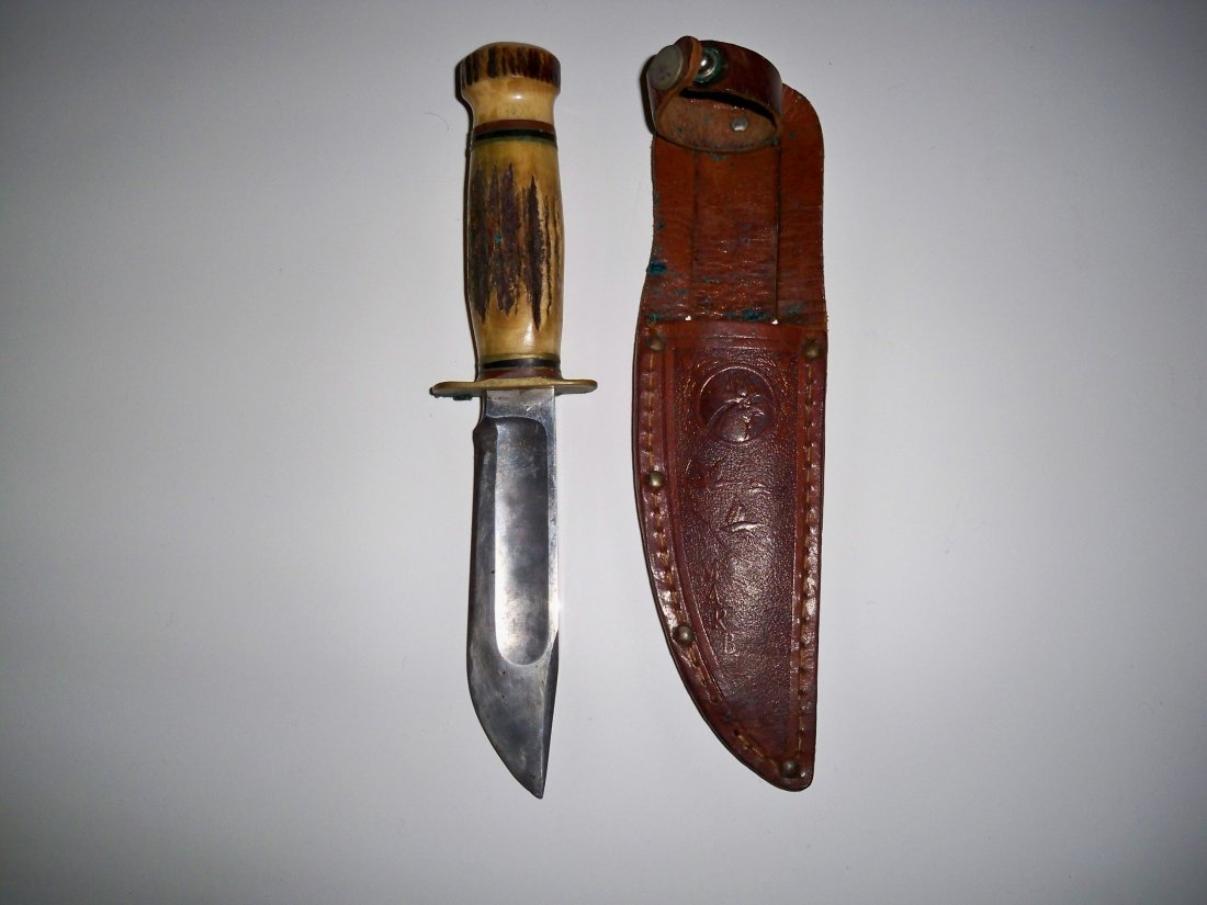 Vintage Marble's No. 46 Fixed Blade Hunting Knife