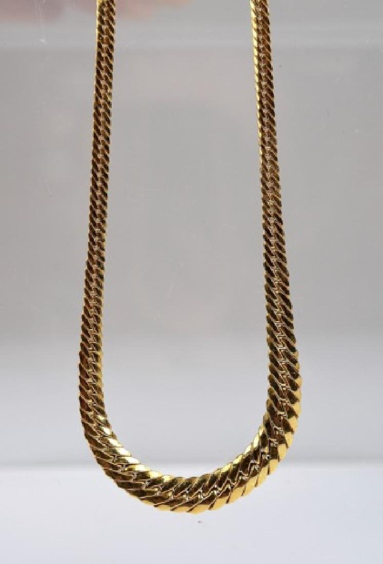 ITALIAN YELLOW GOLD NECKLACE