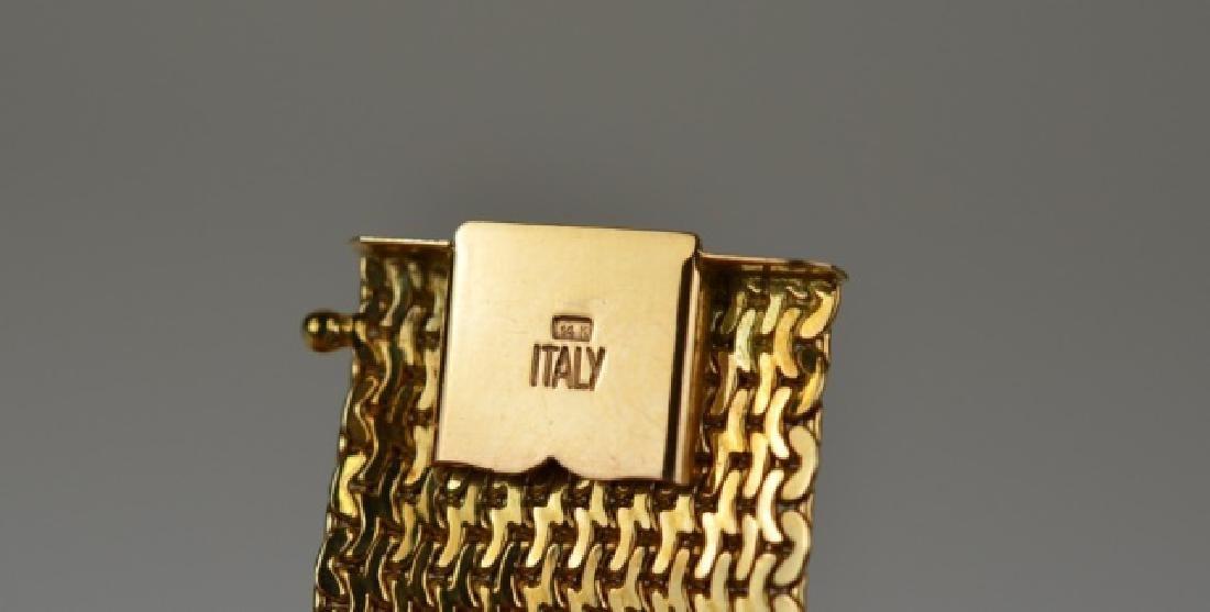 ITALIAN YELLOW GOLD BRACELET - 2