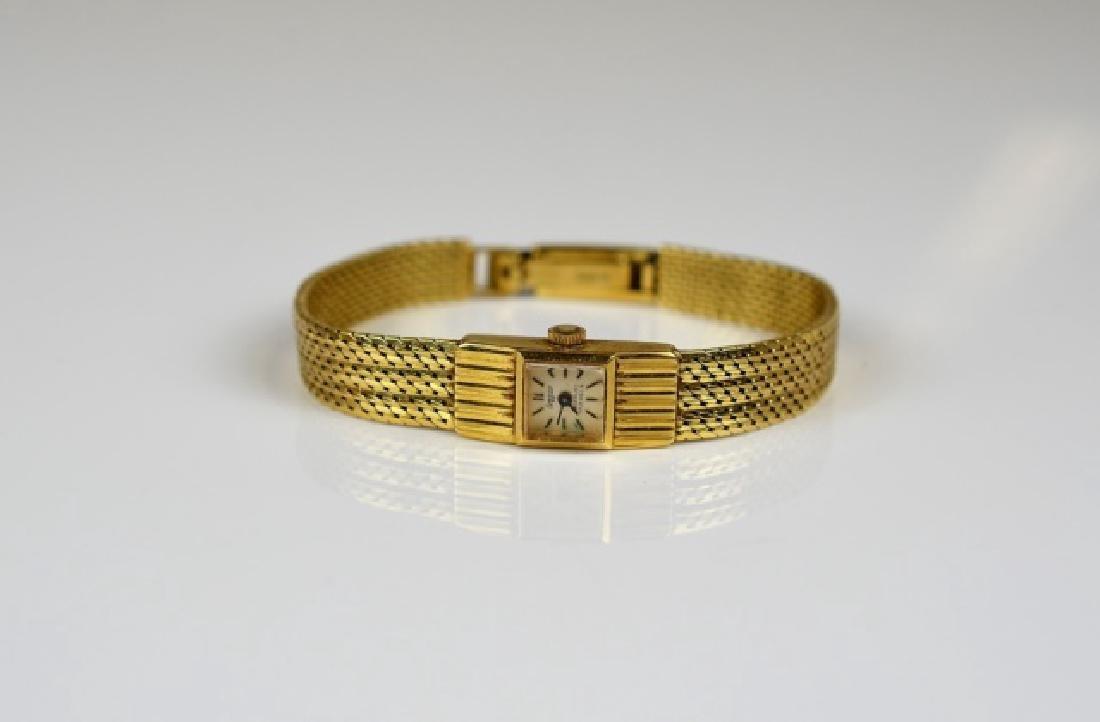 ANTIQUE YELLOW GOLD SWISS WATCH - 2