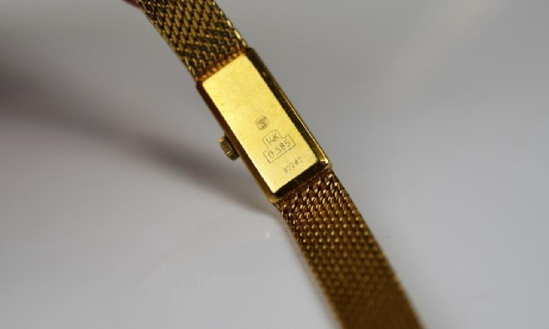 ANTIQUE YELLOW GOLD SWISS WATCH - 4