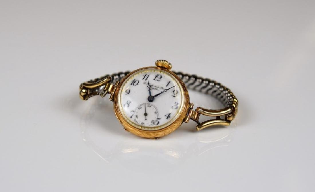 ANTIQUE YELLOW GOLD WATCH