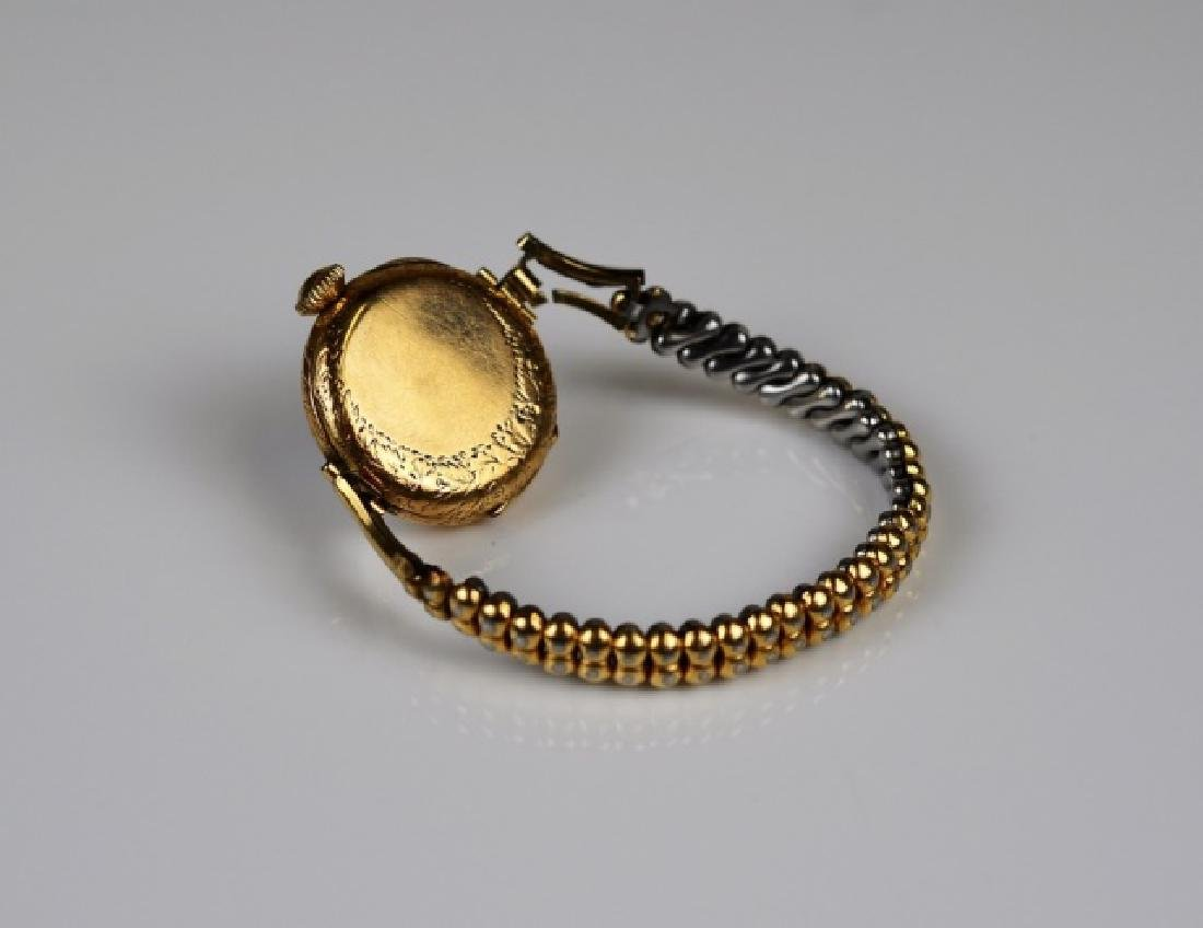 ANTIQUE YELLOW GOLD WATCH - 3