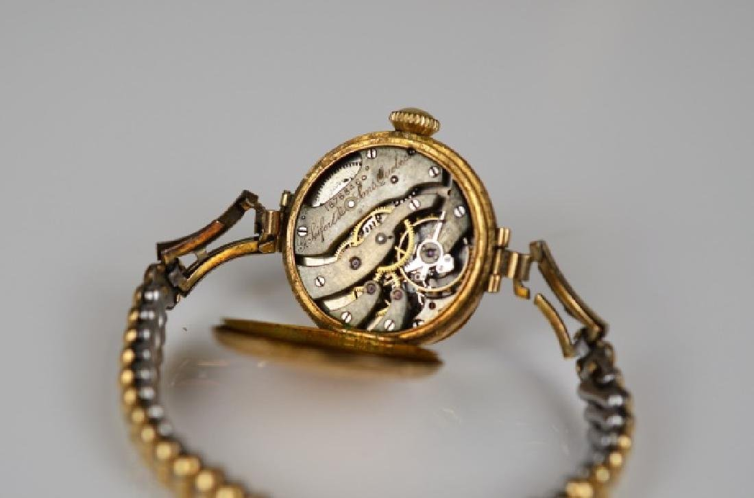 ANTIQUE YELLOW GOLD WATCH - 4