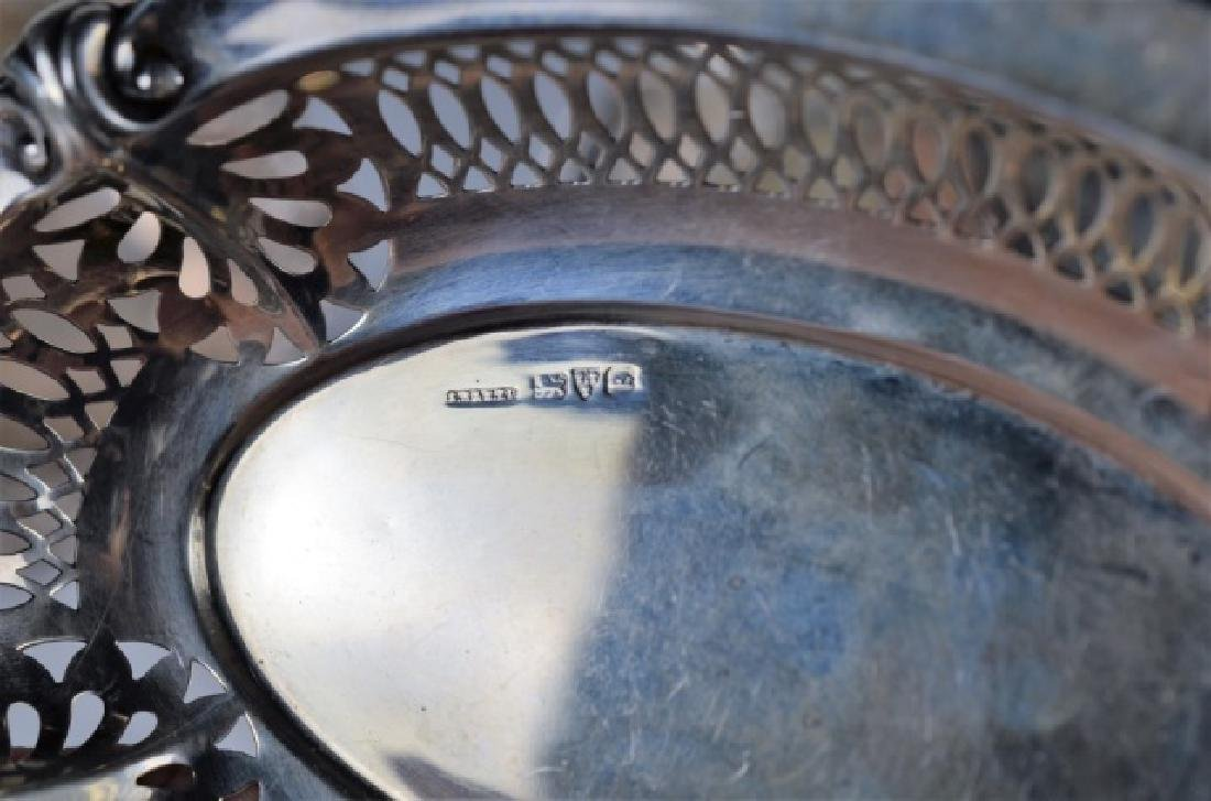 LOT OF ENGLISH SILVER DISHES - 6