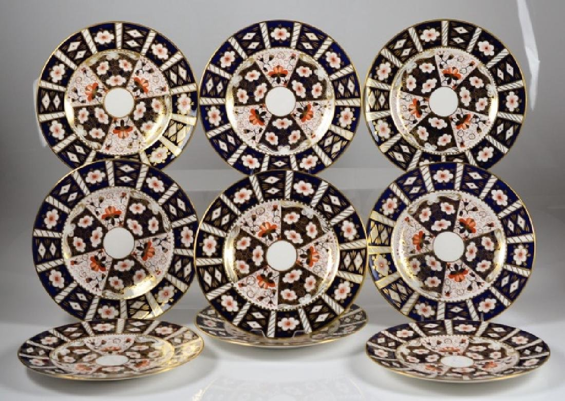 ROYAL CROWN DERBY IMARI PATTERN PORCELAIN