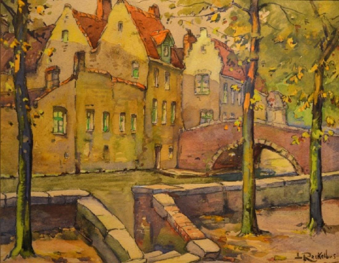 Louis Joseph RECKELBUS (Belgian, 1864-1958)