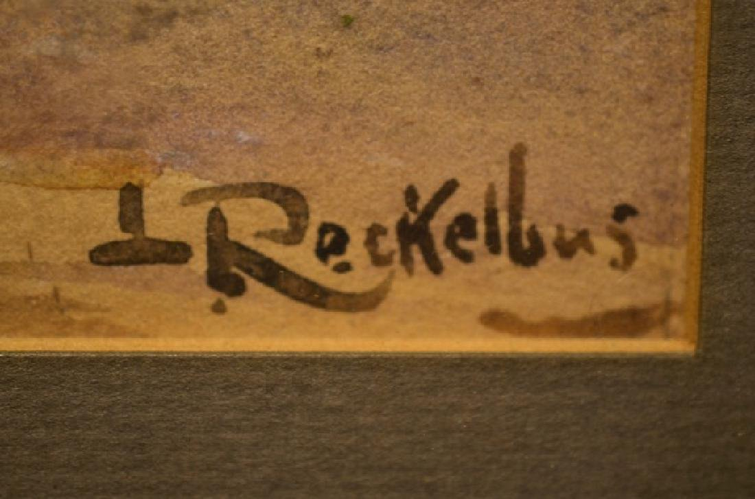 Louis Joseph RECKELBUS (Belgian, 1864-1958) - 3
