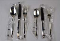 72 PIECE CHRISTOFLE SILVERPLATE FLATWARE SET
