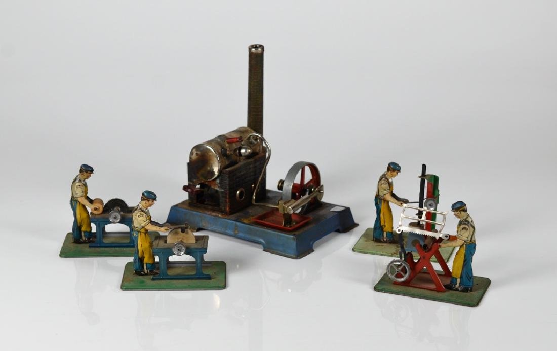 LOT OF VINTAGE MECHANICAL TOYS