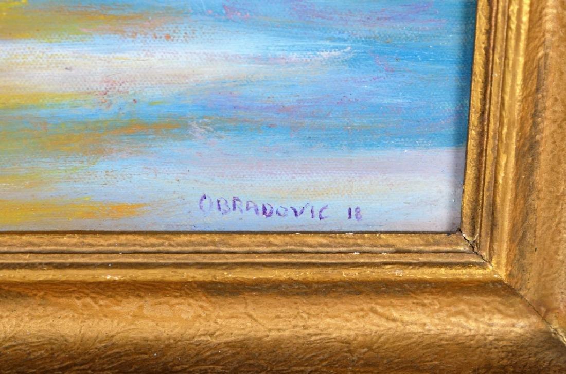 JUSTIN OBRADOVIC (CANADIAN, 1989-) - 2