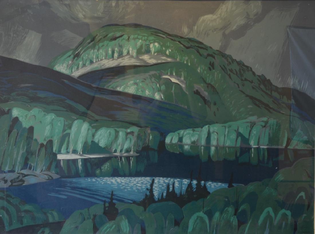 ALFRED JOSEPH CASSON, O.S.A., P.R.C.A. (1898-1992)