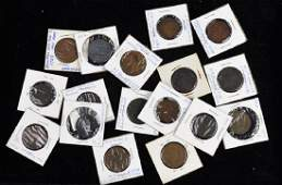 LOTS OF CANADIAN  AMERICAN COINS  TOKENS
