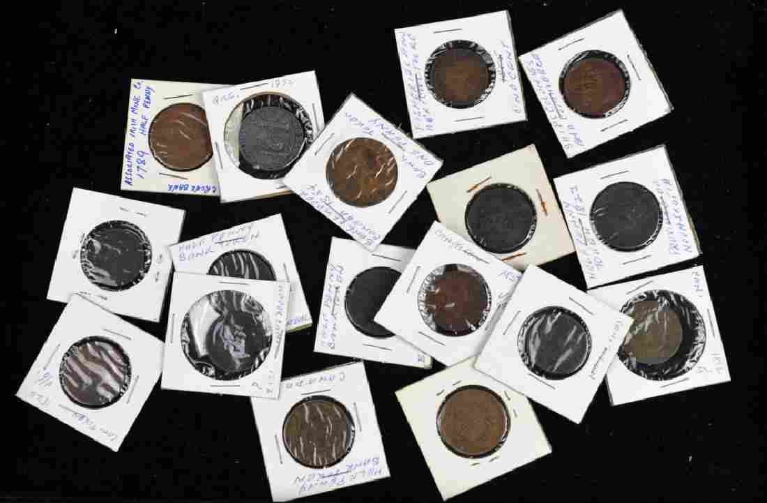 LOTS OF CANADIAN & AMERICAN COINS & TOKENS