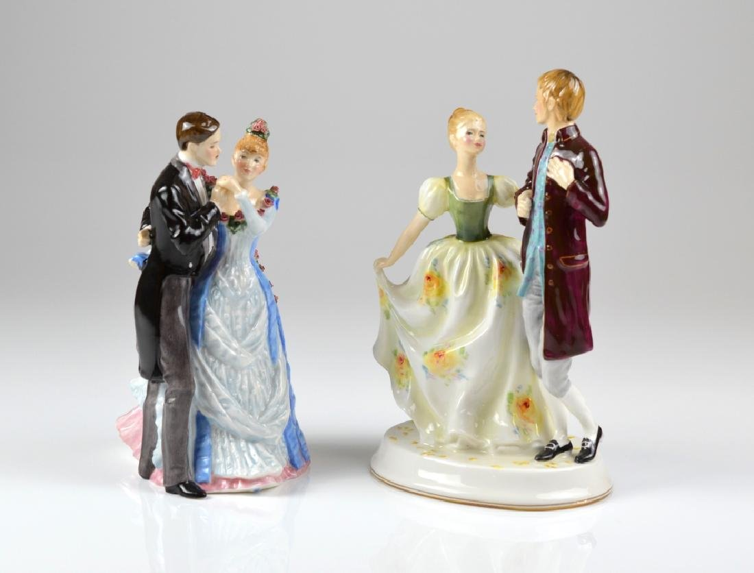 TWO ROYAL DOULTON PORCELAIN FIGURINES