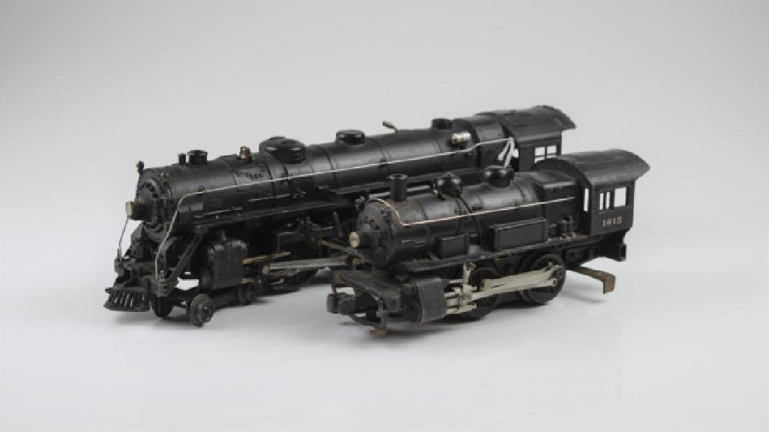 LIONEL LOCOMOTIVES, TENDERS AND COAL CARS