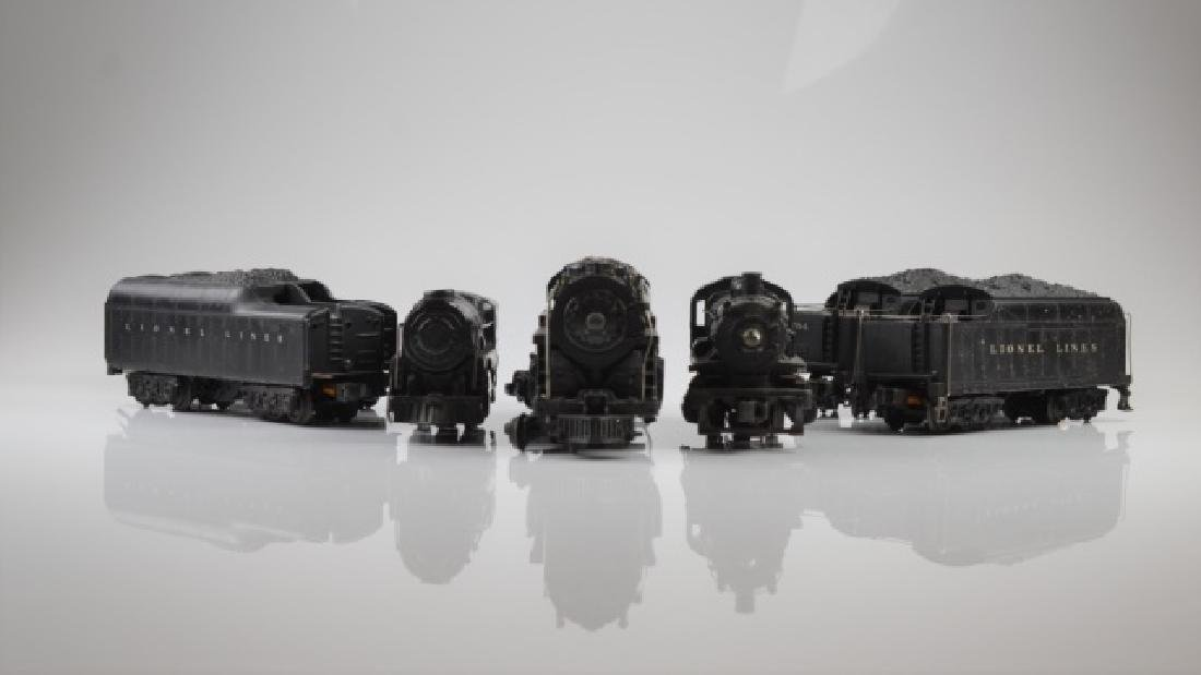 LIONEL LOCOMOTIVES, TENDERS AND COAL CARS - 2