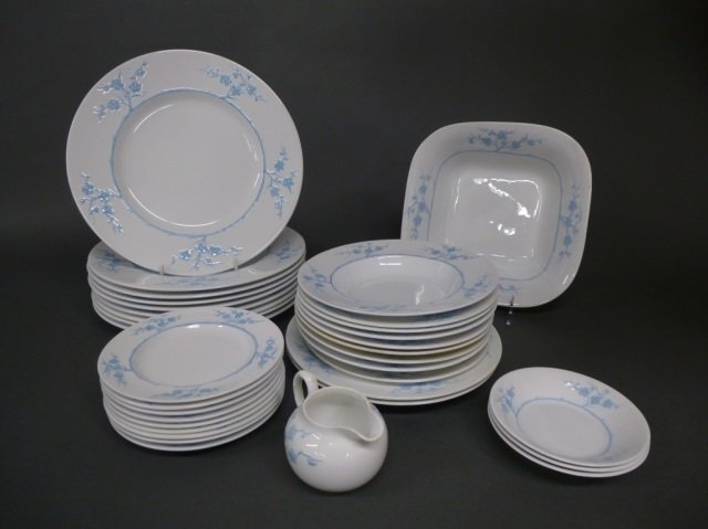 Collection of Blanche de Chine dinnerware by Spode