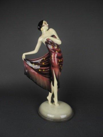 Spanish Shawl Dancer, Goldscheider, Wein