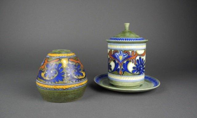Zuid Holland Gouda Rhodian pottery