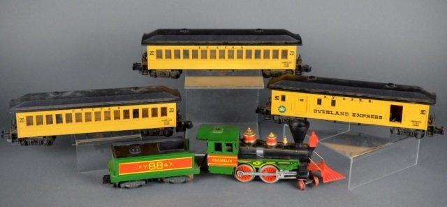 Lot of 5 American Flyer Lines Overland Express