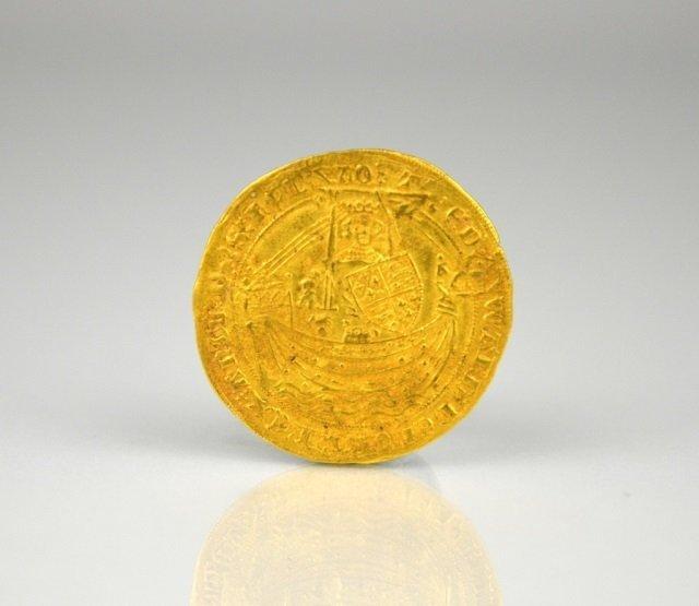 EDWARD III GOLD NOBLE COIN