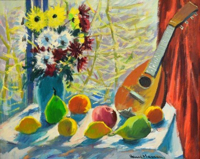 HENRI LEOPOLD MASSON (Canadian, 1907-1996)
