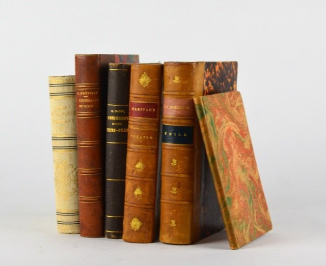 SIX 19TH/20TH CENTURY FRENCH BOOKS